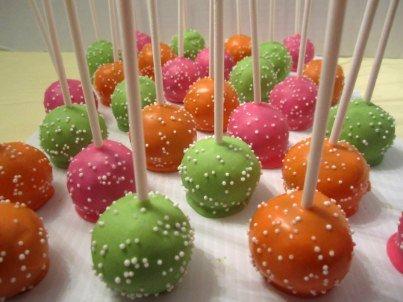 Cake pops (Sucettes de gâteau) (1/2)