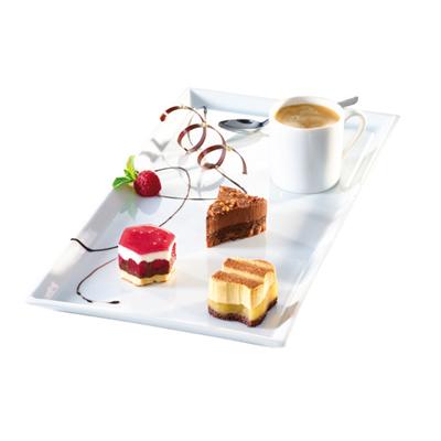 Caf gourmand home chef - Assiette rectangulaire pour cafe gourmand ...